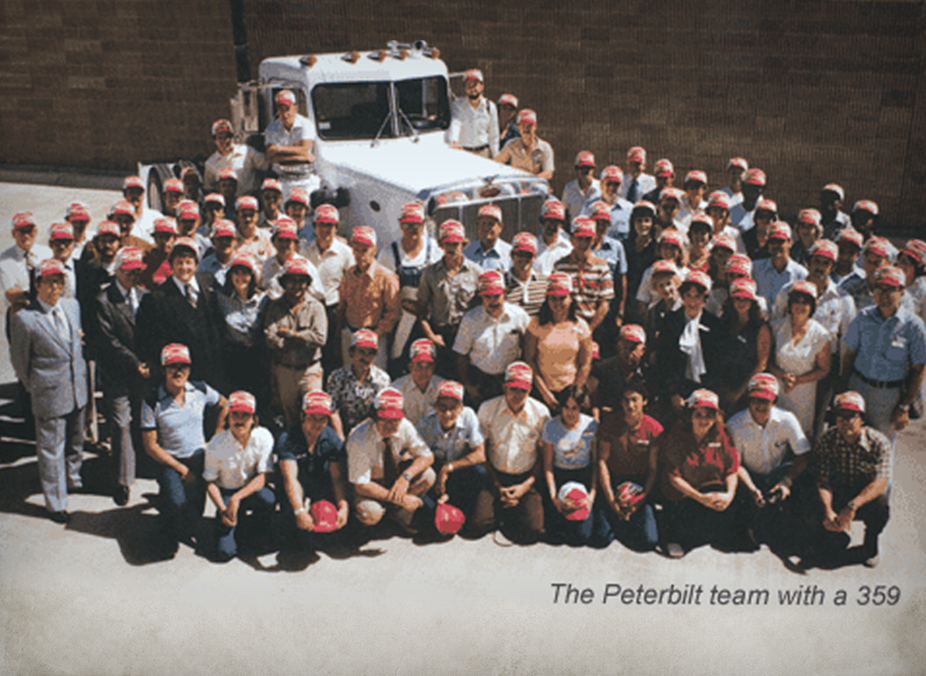 1980 Peterbilt Team with 359