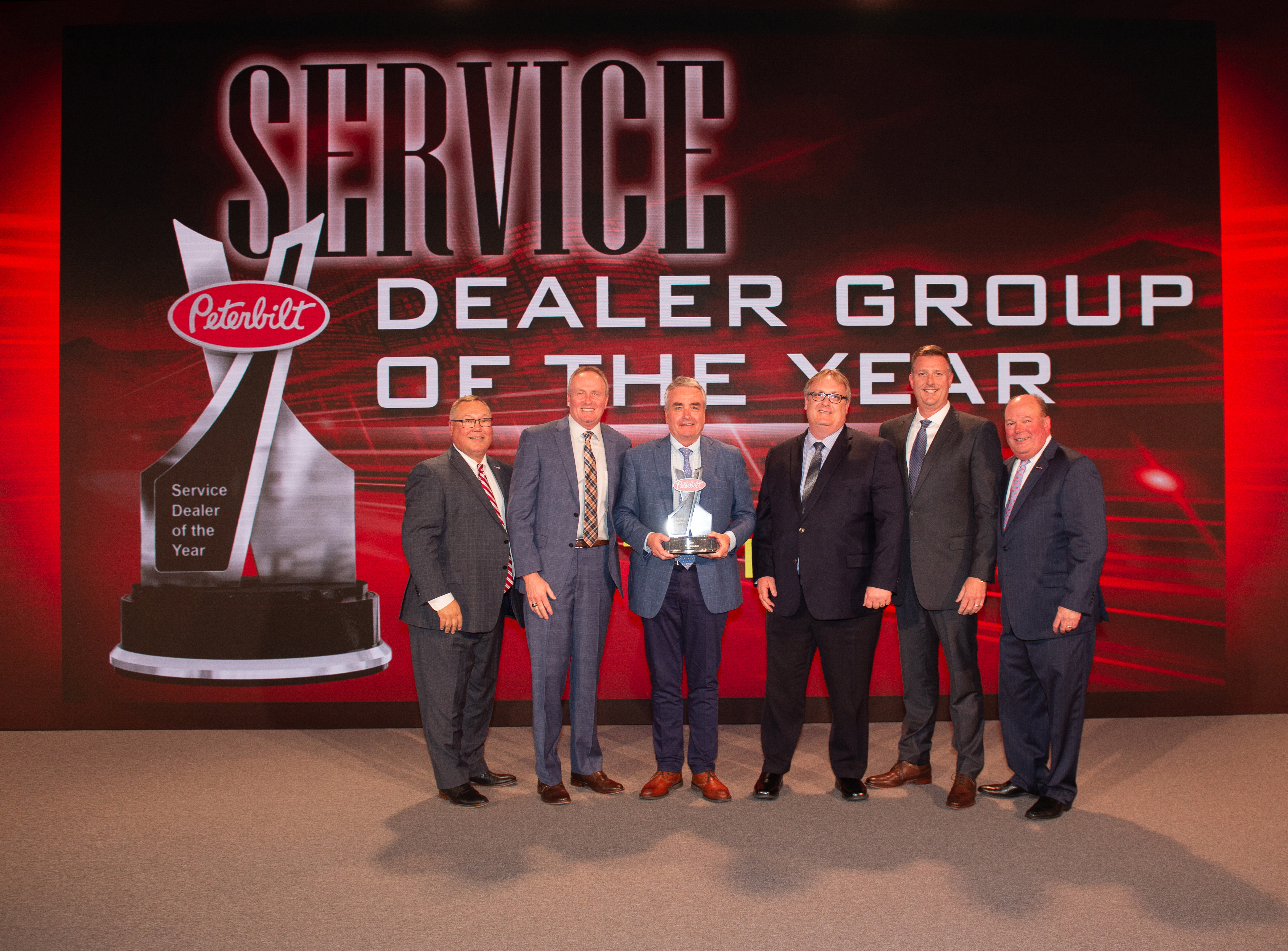Service Dealer of the Year: TLG Peterbilt