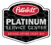Platinum Service Center Badge